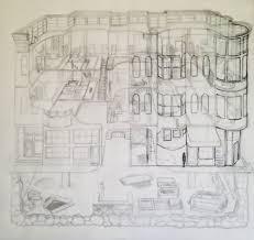 Castle Blueprint Blog U2014 Carden Illustration