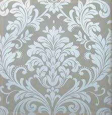 italian metallic silver wallpaper modern non woven background wall