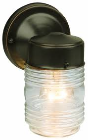 westinghouse outdoor lighting amazon com design house 505198 jelly jar 1 light wall light oil