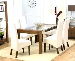 glass dining table with 6 chairs u2013 mitventures co