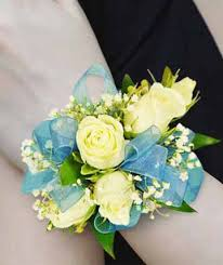 teal corsage white teal corsages boutonnieres by flower world in york pa
