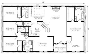 four bedroom house plans one story best four bedroom house plans floor plans for a 4 bedroom house