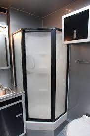 Cargo Trailer With Bathroom 42 U0027 Custom Race Trailer With Bathroom Package Custom Aluminum
