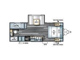 Salem Travel Trailer Floor Plans by 2018 Forest River Salem Cruise Lite 230 Bhxl Pasco Wa
