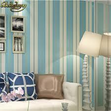 wide wallpaper home decor beibehang modern simple wide stripe wallpaper for living room