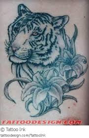 a design picture by ink tiger nature flower