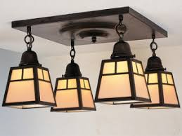 Arts Crafts Lighting Fixtures Arts Crafts Mission And Craftsman Lighting