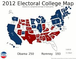 2016 Presidential Map Frontloading Hq 2012 Election Night Live Blog
