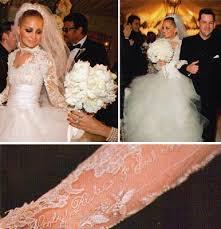 richie wedding dress richie s wedding dress the detail on their names