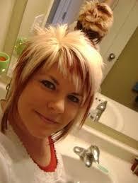 chunky short haircuts short hair cut asymmetrical a line cut blonde hair style