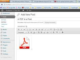 tutorial wordpress com pdf how to link a pdf in wordpress or any other file format