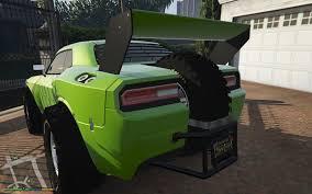 Dodge Challenger Engine Swap - raid challenger handling u0026 engine swap gta5 mods com