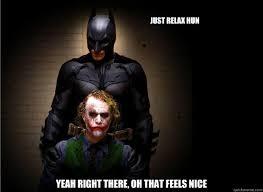 Batman Joker Meme - batman joker meme owl mne vse pohuj