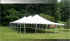 rental tent king rentals tent party rentals in southern new hshire