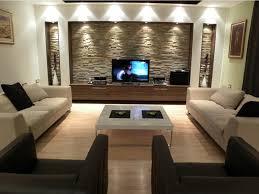 Stone Living Room Astounding Modern Living Room Decoration Using Red Living Room
