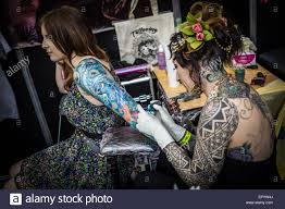 london uk 23rd may 2015 the great british tattoo show credit