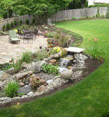 Landscaping Ideas For Hillside Backyard Garden Design Garden Design With Landscaping Ideas For Hilly
