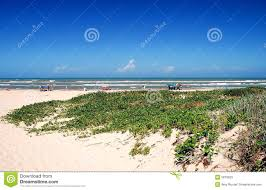 South Padre Island Map South Padre Island Beach Scene Royalty Free Stock Images Image