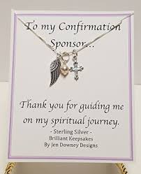 religious gift ideas confirmation sponsor gift ideas quotes for your sponsor thank