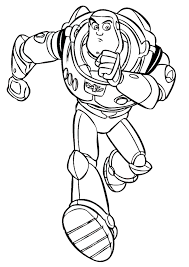 buzz lightyear toy story 2 coloring print free download