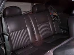 fox mustang seats 2000 gt coupe rear seats into foxbody mustang forums at stangnet