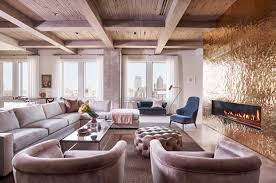 stylish and sophisticated apartment with dallas skyline views luxury apartment interior r brant design 06 1 kindesign