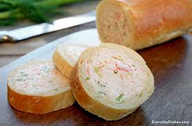 baguette cuisine easy crab stuffed baguette recipe