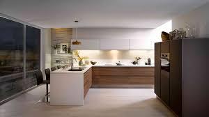cuisine moderne et design cuisine blanche et bois clair grande cuisine design cuisine