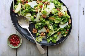 brussels sprout salad with apples and walnuts recipe nyt cooking