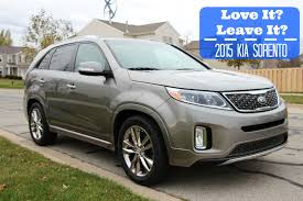 kia vehicles 2015 love it or leave it 2015 kia sorento sarah rae vargas
