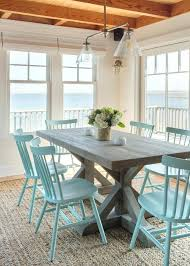 coastal dining room table beach style dining table coastal farmhouse table beach style dining
