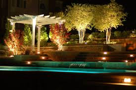 Pool Landscape Lighting Ideas Breathtaking Landscape Lighting Pool Traditional Design Ideas With