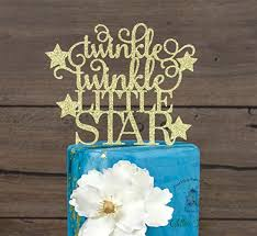 twinkle twinkle cake topper twinkle twinkle cake topper baby shower