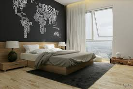 Artistic Bedroom Ideas by Bed Bedroom Feature Wall
