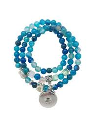 blue bracelet images Snap bracelet gracie roze jpg