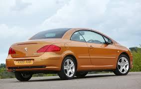 peugeot 407 coupe tuning peugeot 307 coupé cabriolet review 2003 2008 parkers