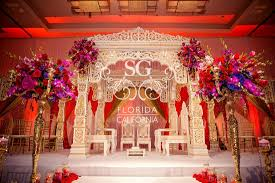 wedding decorator suhaag garden avani and chirag loews atlanta hotel r a g