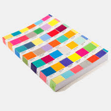 pantone chips journal