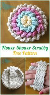Free Pattern For Crochet Flower - crochet spa gift ideas free patterns flower shower spa gifts