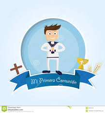 First Communion Invitations Cards My First Communion Stock Vector Image 48583210