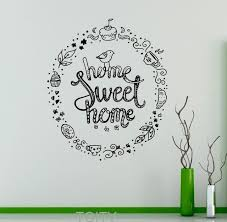 cute sayings for home decor home sweet home wall decal quote sayings vinyl sticker nursery