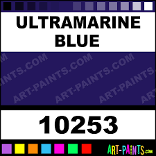ultramarine blue artist oil paints 10253 ultramarine blue