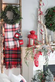 Xmas Home Decorating Ideas by Best 25 Plaid Christmas Ideas Only On Pinterest Christmas