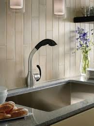 moen pullout kitchen faucet moen neva spot resist stainless softgrip one handle pullout kitchen