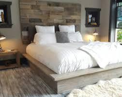 King Platform Bed King Platform Bed Etsy
