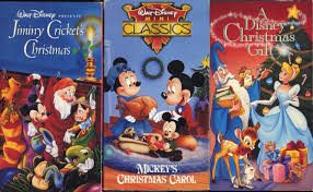 amazon com disney christmas set of three vhs a disney christmas