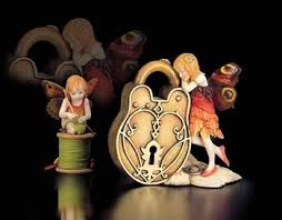 butterfly fairies collectible figurines from country artists