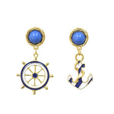 anchor earrings anchor earrings rings tings online fashion store shop the