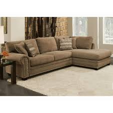 Albany Sectional Sofa Albany Industries Sectionals 8648 2pc Bingo Porcini Stationary