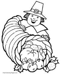 thanksgiving coloring pages free coloring pages color
